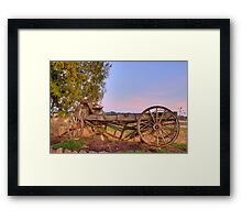 Still Here After All These Years Framed Print