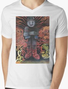 Watchman of Eternity - part 1 - Grauer Mann attacked by Baba Yaga Mens V-Neck T-Shirt