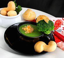 ABC Almonds, Brokkoli and Crunchy  Puffs by SmoothBreeze7