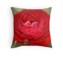 Ranunculus - Buttercup Throw Pillow