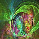 Face of energy by Fractal artist Sipo Liimatainen