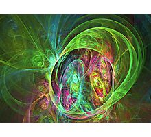 Face of energy Photographic Print