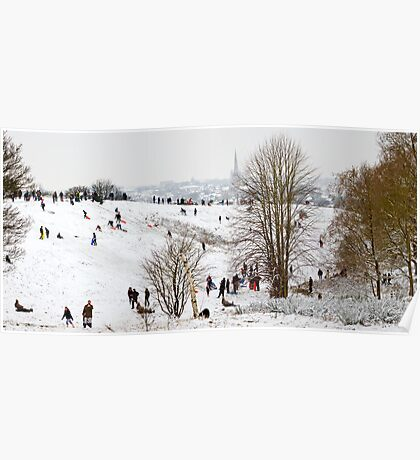 Mousehold Heath Sledging Poster