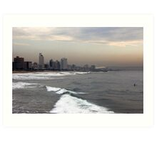 Durban seafront Art Print