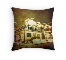 Motel gigi Throw Pillow