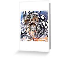 CatFishEye Greeting Card