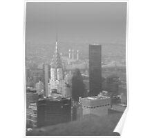 Chrysler Building B&W Poster