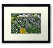 [Red?] Bubblers Travels Framed Print