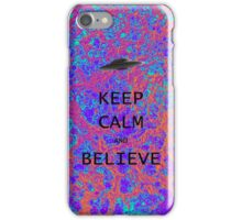 Keep Calm & Believe iPhone Case/Skin