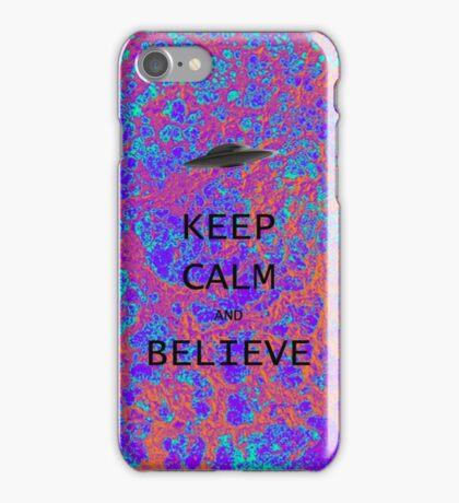 Keep Calm & Believe iPhone Case/Skin