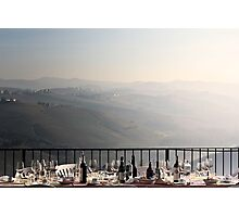 another lunch done in piemonte... Photographic Print