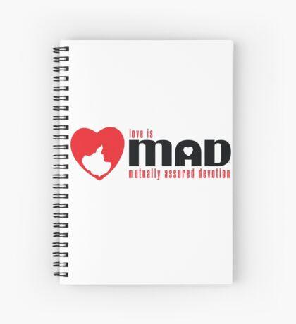 MAD LOVE - Red Spiral Notebook