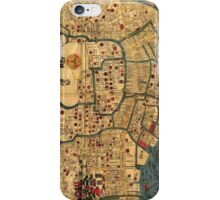 Old Map of Tokyo iPhone Case/Skin