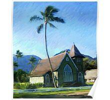 Kauai Church Poster