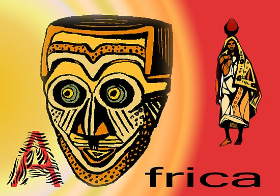 Africa Mask by RosiLorz