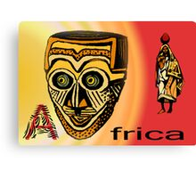 Africa Mask Canvas Print