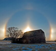 Sunrise Sundogs by Jerry Walter