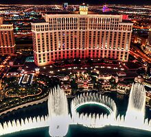 The Bellagio Fountains by Eddie Yerkish