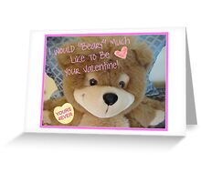Beary Happy Valentine's Day! Greeting Card