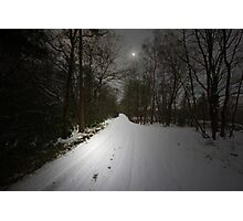 JUST A BEAUTIFUL SNOW SCENE Photographic Print