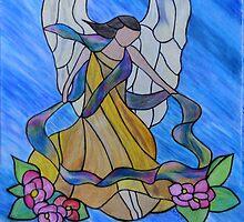 She Gathers.... by Marsha Free