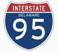 Interstate Sign 95 Delaware, USA Kids Tee