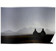 Ben Loyal across the Moine, Sutherland Poster