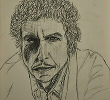 Bob Dylan by Tricia Winwood