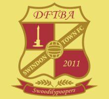 The Swindon Town Swoodilypoopers Kids Tee