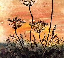 Seed Heads by Mike HobsoN