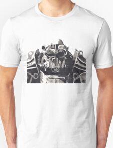 Fallout 4 Brotherhood Watercolour T-Shirt