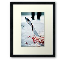 Knife  Framed Print