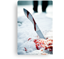 Knife  Canvas Print