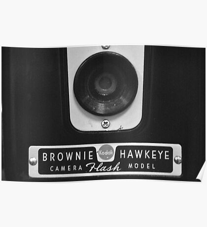 Kodak Brownie Hawkeye Face Poster