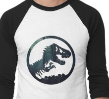 Jurassic Forest Men's Baseball ¾ T-Shirt