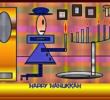 PracPak Hanukkah, Last Night by joanw