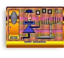 PracPak Hanukkah, Last Night Canvas Print