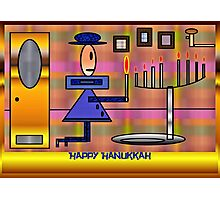PracPak Hanukkah, Last Night Photographic Print