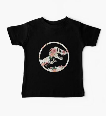 Jurassic Floral Baby Tee