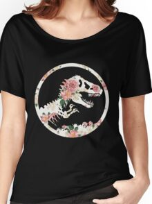 Jurassic Floral Women's Relaxed Fit T-Shirt