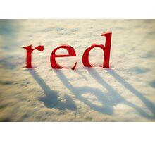 Red Glow  Photographic Print