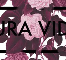 Pura Vida Flowers Sticker