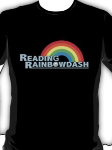 Reading Rainbow Dash Logo (MLP:FiM) T-Shirt