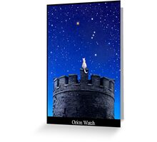 Orion Watch Greeting Card