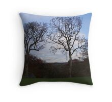 3 Trees by LL Throw Pillow