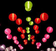 Paper lanterns by DaleReynolds