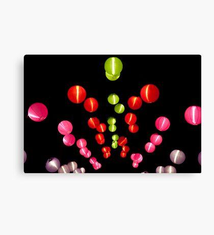 Paper lanterns Canvas Print