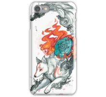 Watercolor Okami iPhone Case/Skin