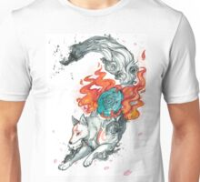 Watercolor Okami Unisex T-Shirt