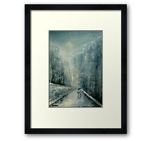 Snowy Day II Framed Print